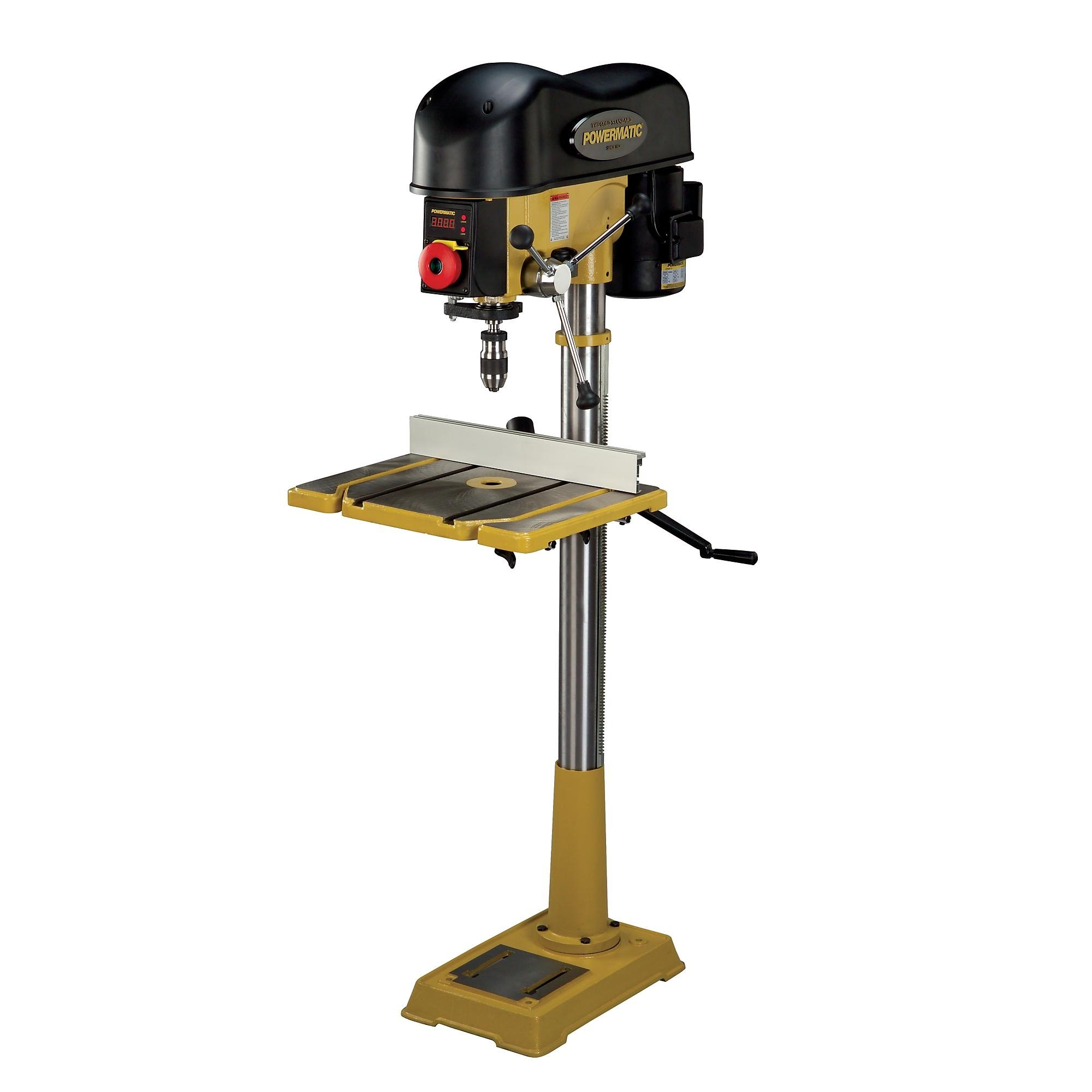 Wood Drill Press for Pinterest